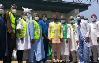 Nijerya'da maaşları ödenmeyen doktorlar süresiz...