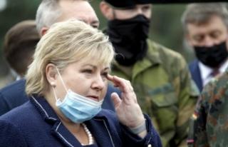 Norveç Başbakanı Solberg'e Covid-19 kurallarını...