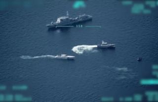 Sahil Güvenlik Komutanlığının düzensiz göçmenleri...