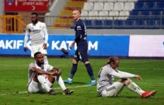 Süper Lig: Kasımpaşa: 1 - Beşiktaş: 0 (Maç sonucu)