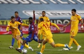 Süper Lig: Trabzonspor: 1 - Hes Kablo Kayserispor:...