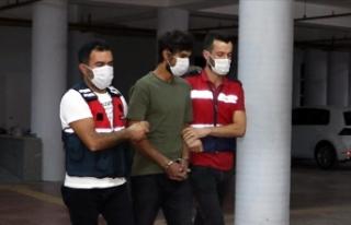 Suriye'den paramotorla geldiği Amanoslarda yakalanan...