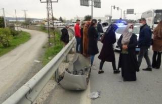 Tarım işçilerini taşıyan araç otobüsle çarpıştı:...