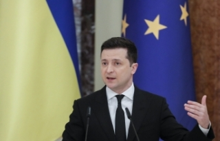 "Ukrayna Devlet Başkanı Zelenskiy: ""Donbass'taki..."