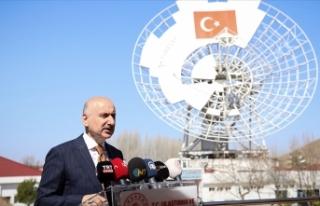 Ulaştırma ve Altyapı Bakanı Karaismailoğlu: Türksat...