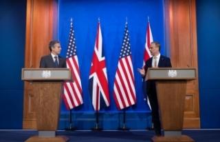 ABD Dışişleri Bakanı Blinken ve mevkidaşı Raab'tan...
