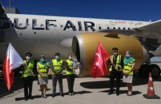 Bahreynli havayolu şirketinden İstanbul'a 14 ay...