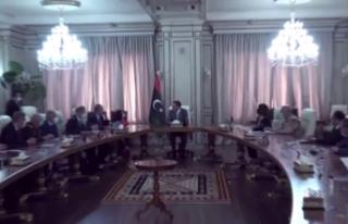 Bakan Akar, Çavuşoğlu ve Fidan, Libya Başbakanı...
