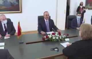 Bakan Çavuşoğlu, Bosna Hersekli mevkidaşı Turkovic...