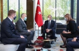 Bakan Çavuşoğlu, İslam Toplumu Başkanı Müftü...