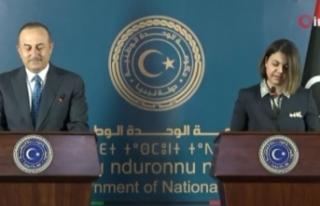 """Bakan Çavuşoğlu: """"Libya'ya sağladığımız..."""