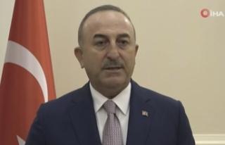 Çavuşoğlu'ndan Filistin açıklaması: 'Türkiye...