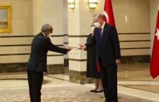 Cumhurbaşkanı Erdoğan, Etiyopya Büyükelçisini...