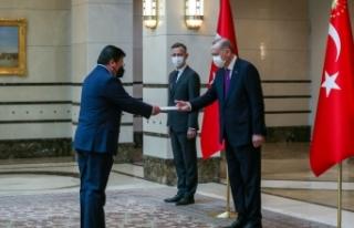 Cumhurbaşkanı Erdoğan, Şili Büyükelçisini kabul...