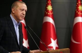 Cumhurbaşkanı Erdoğan'dan Ramazan Bayramı...