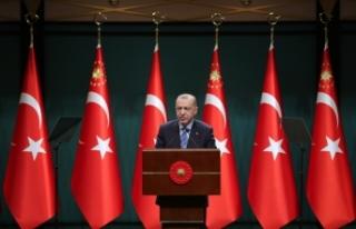 Cumhurbaşkanı Erdoğan: Esnaf ve sanatkarımıza...
