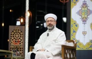 """Diyanet İşleri Başkanı Prof. Dr. Ali Erbaş: """"Camilerde..."""