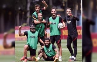 Galatasaray'da Beşiktaş derbisi hazırlıkları...