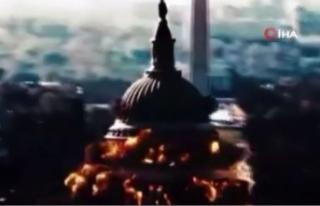 İran devlet televizyonu, ABD kongre binasının havaya...