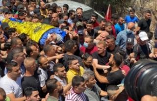 İsrail tarafından öldürülen Filistinli genç...