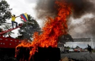 Kolombiya'da vergi reformu protestolarında ölü...