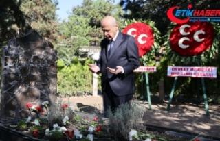 MHP Genel Başkanı Bahçeli, Başbuğ Alparslan Türkeş'in...