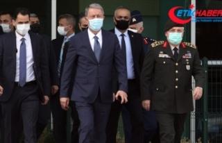 Milli Savunma Bakanı Akar Libya'nın başkenti...