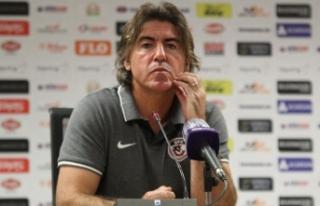 "Ricardo Sa Pinto: ""Her şeyi yaptık ama golü..."