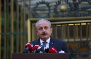 """TBMM Başkanı Şentop: """"Mescid-i Aksa'da namaz..."""