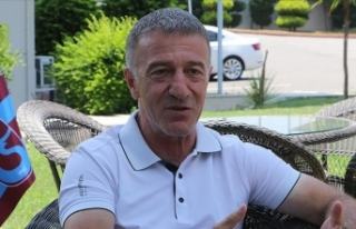 Trabzonspor Kulübü Başkanı Ağaoğlu: Hedeflerimiz...