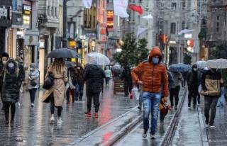 Türkiye'de nisan ayında yağışlar yüzde...