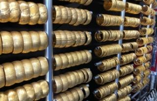 Altın kaplama bileziğe yoğun ilgi!