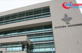 Anayasa Mahkemesi HDP'nin kapatılması istemiyle...