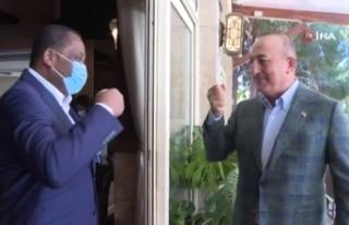 Bakan Çavuşoğlu'nun ikili görüşmeleri