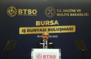"""Bakan Elvan: """"Enflasyonla mücadele tüm politikalarımızın..."""