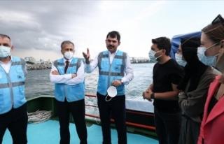 Bakan Kurum: Marmara Denizi'nden 12 günde 4...