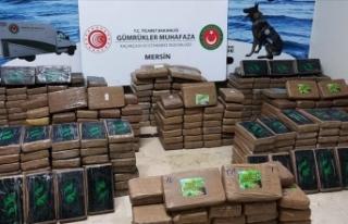 Bakan Muş, Mersin Limanı'nda 463 kilogram kokain...