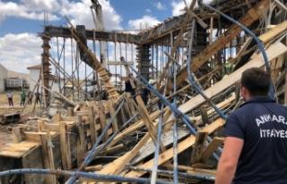 Başkent'te inşaatta göçük: 2 yaralı