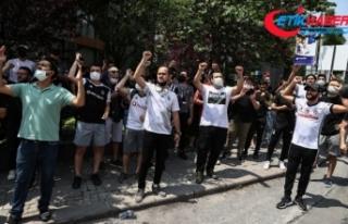 Beşiktaşlı taraftarlar Sergen Yalçın'ın...