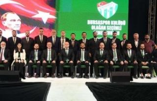 """Bursaspor Kulübü Yönetimi: """"Bursaspor, Teksas'tan..."""