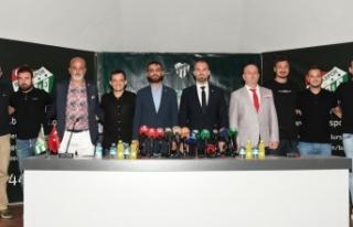 Bursaspor, teknik direktör Mustafa Er ile sözleşme...