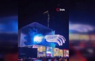Çin'de 3 boyutlu reklam çılgınlığı