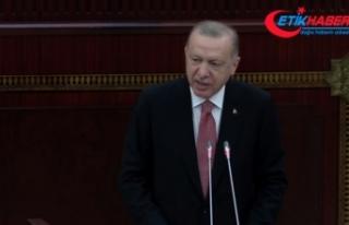 Cumhurbaşkanı Erdoğan: Bugün Azerbaycan'ın...