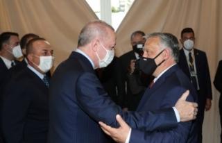 Cumhurbaşkanı Erdoğan, Macaristan Başbakanı Orban...