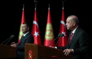 """Cumhurbaşkanı Erdoğan: """"O ulu çınarın altında..."""