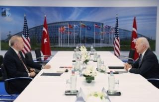 Cumhurbaşkanı Erdoğan'ın ABD Başkanı Biden...
