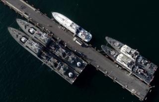 Deniz Kuvvetleri müsilajın donanmadaki gemilere...