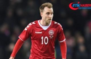 Danimarka-Finlandiya maçı Eriksen'in fenalaşması...