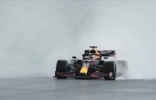 F1 Büyük Britanya Grand Prix'sinde tribünlerin...
