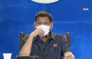 """Filipinler Devlet Başkanı Duterte: """"Ya aşı..."""